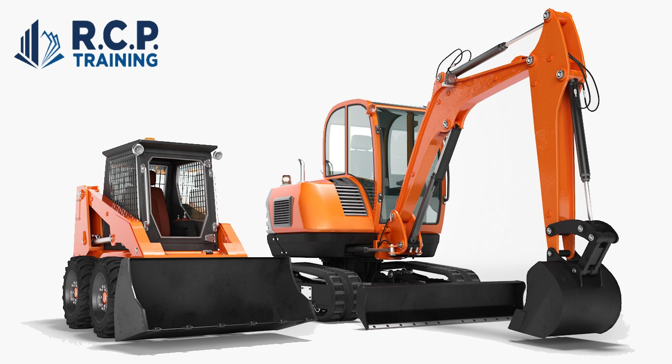Mini Digger Training Courses - RCP training Ltd Surrey and Berkshire