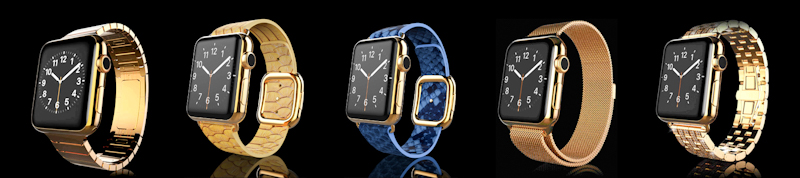 Gold Plate Apple Watch
