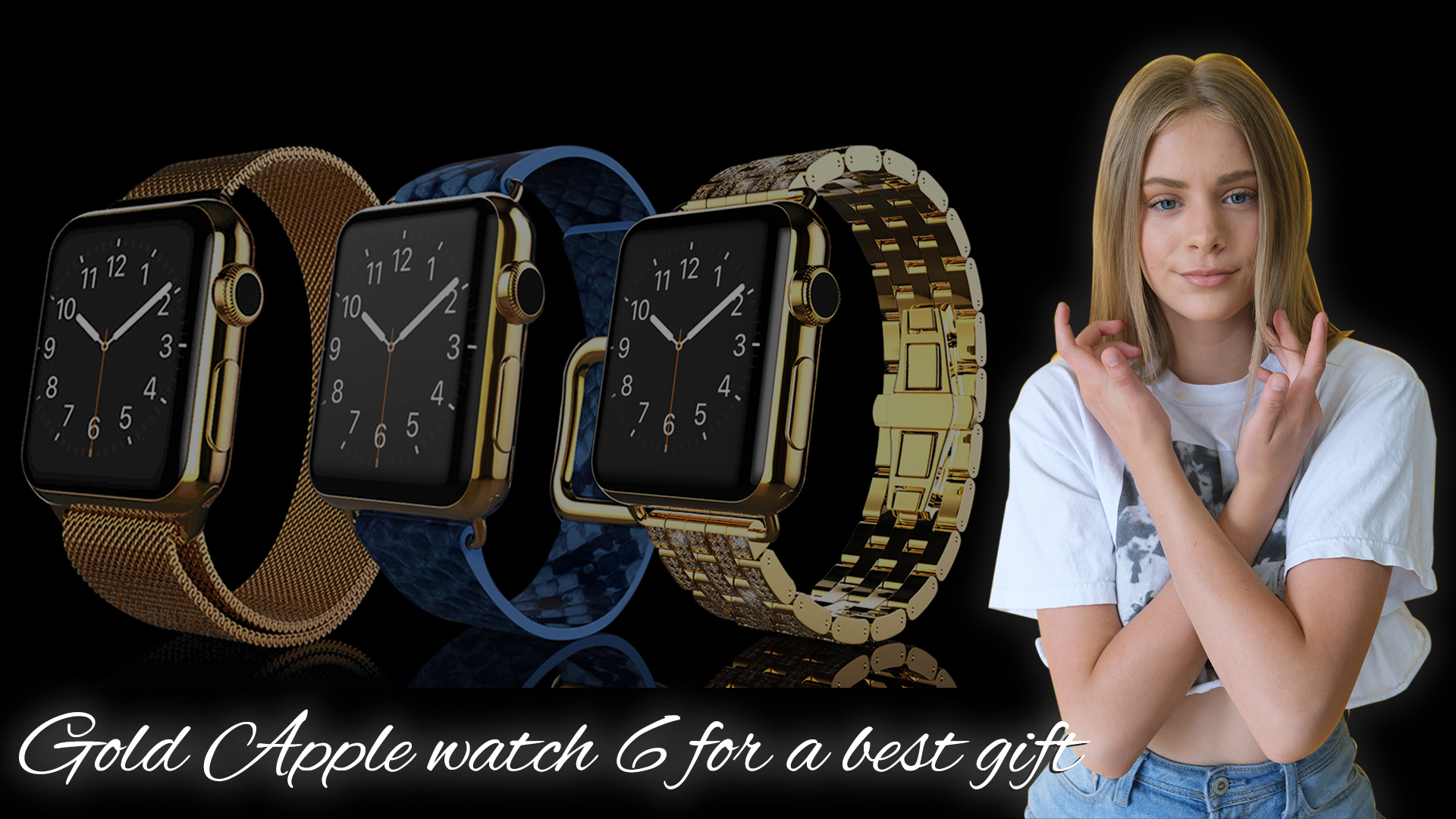 Gold Apple Watch 6 Series